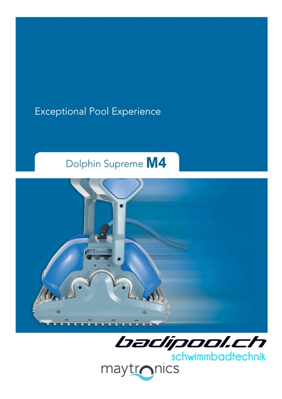 Dolphin Supreme M4 Poolroboter